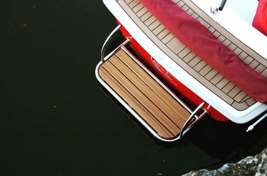 Accès à l'eau sur les bateaux électriques sans permis E-SEA
