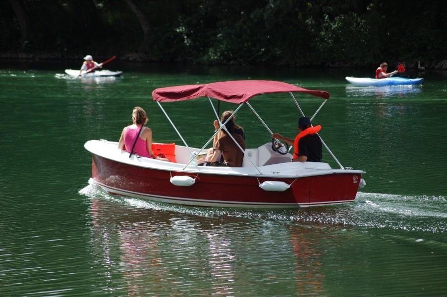 Ballade en bateau E-SEA
