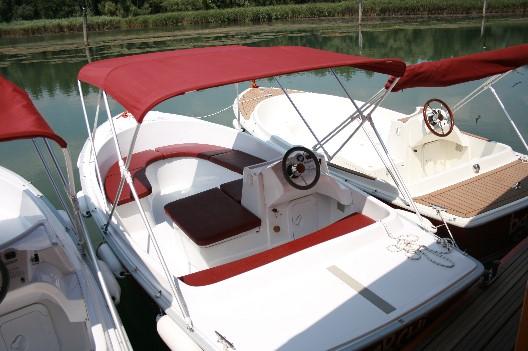 Arrière du bateau Sensas