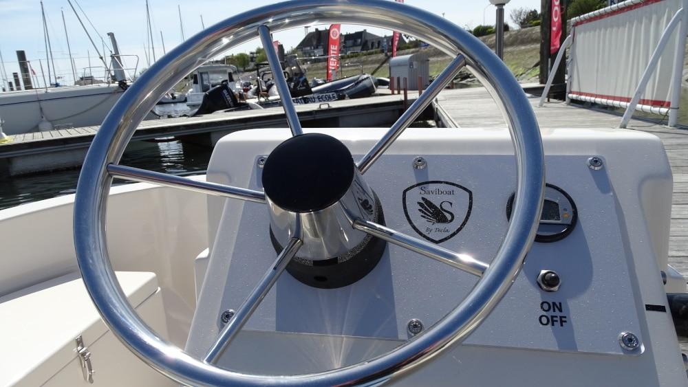 Passerelle du bateau Sensas
